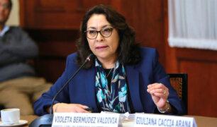 """Primera ministra sobre fallo del TC: """"se perdió una oportunidad"""""""