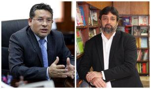 Rubén Vargas y Ricardo Cuenca serían ministros del Interior y Educación
