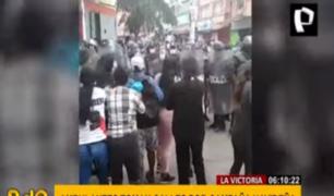 La Victoria: ambulantes toman calles por temporada navideña