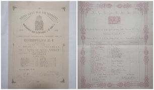 [FOTOS] Recuperan valiosos documentos históricos en Los Olivos