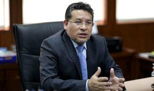 """Ministro del Interior: """"Basta de utilizar políticamente a la PNP"""""""