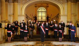 Presidente Francisco Sagasti tomó juramento al nuevo Gabinete Ministerial