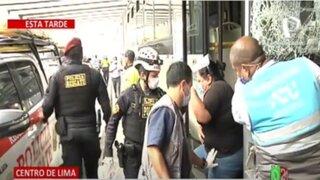 SMP: Choque de tres buses del Metropolitano deja 3 pasajeros heridos
