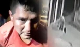 Casi linchan a ladrón en San Martín de Porres