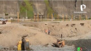 Miraflores extraerá 1,600 toneladas de escombros de sus playas
