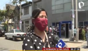 Habla empresaria asaltada tras retirar fuerte suma de banco en SJM