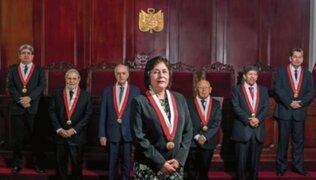TC declaró improcedente demanda competencial contra vacancia presidencial
