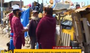 Municipalidad de Chorrillos ayuda a 'Rabito', anciano que vive en medio de desperdicios
