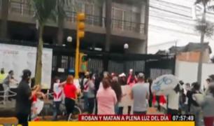 Vecinos de Chorrillos protestan ante ola de inseguridad