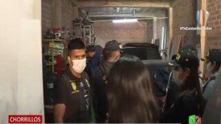Chorrillos: Escuadrón Terna descubre taller donde desmantelaban vehículos robados