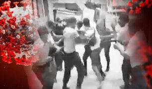 Serenos y comerciantes venezolanos se enfrentaron violentamente en Tumbes