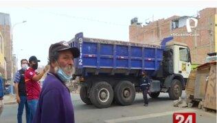 Chorrillos: Municipalidad limpió terreno habitado por 'Rabito', anciano que vive entre desperdicios
