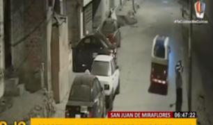 SJM: 'raqueteros' en mototaxi siembran terror entre vecinos