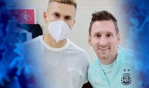 Esta es la polémica foto con Messi del hijo de Agustín Lozano