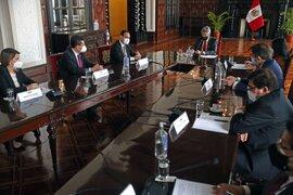 Francisco Sagasti se reunió con misión de observadores de la OEA
