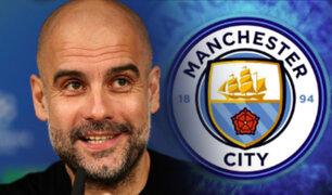Pep Guardiola renueva con el Manchester City