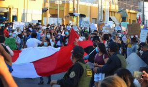 Ica: menores denuncian que sereno las acosó sexualmente  durante marcha por crisis política