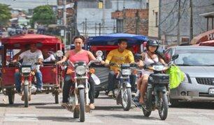 Congreso actualizará norma sobre uso de motocicletas con uno o más ocupantes