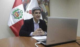 Ministro Alejandro Neyra inauguró la quinta edición de la Feria del Libro de Cajamarca