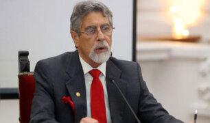 Presidente Sagasti: De hecho, hay cambios que introducir en la Constitución
