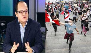 Víctor Quijada: Más allá del derecho a la protesta debemos recordar que estamos en crisis sanitaria