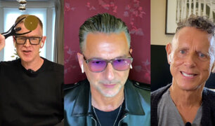 Depeche Mode llegó al Salón de la Fama del Rock de manera virtual