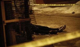 SJL: joven que bebía licor en la calle fue asesinado de un  disparo en la cabeza