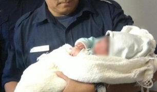 Policías parteros: mujer dio a luz dentro de patrullero en Madre de Dios