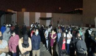 Chimbote: pese a restricciones más de 60 personas participaban de fiesta en cevichería