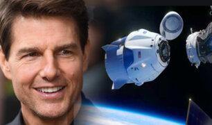 Tom Cruise viajará al espacio para filmar una película