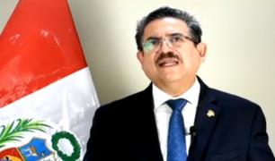 Manuel Merino pide al Partido Morado retirar su plancha presidencial para las elecciones del 2021