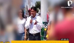 Teniente alcalde de La Perla salva milagrosamente de ser asesinado por sicarios