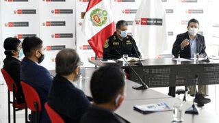 Mininter y Francisco Sagasti se reunieron con padres de Inti Sotelo y Bryan Pintado