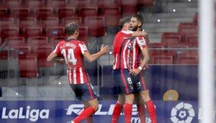 Atlético de Madrid venció 1-0 al equipo Azulgrana