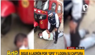 Surco: capturan a ladrón de autos gracias a GPS