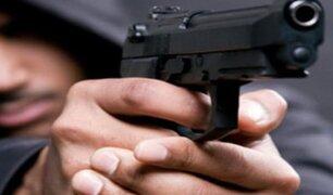 Lima: PNP señala que número de casos de sicariato ha aumentado
