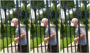 Surco: vecino es acusado de dejar encerrados a tres personas y sus mascotas en parque