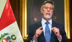 """Presidente Sagasti: """"Nosotros los hombres tenemos el remedio, basta de machismo"""""""