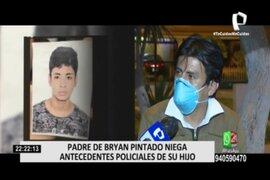 Bryan Pintado: Padre de joven denuncia seguimientos sospechosos y amenazas
