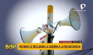 El Agustino: vecinos declaran la guerra a la delincuencia