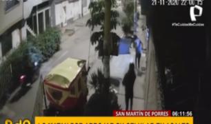 SMP: ladrones asesinan a joven padre por arrojar su celular para que no se lo roben