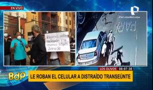 Los Olivos: vecinos denuncian constantes robos y exigen seguridad