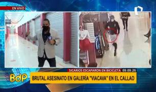 Callao: sicario asesinó a joven de 20 años en galería 'Viacava'