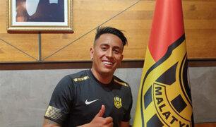 Futbolista Christian Cueva se pronunció tras ser separado por el club Yeni Malatyaspor