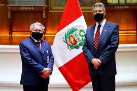 Francisco Sagasti se reunió con el líder de Alianza para el Progreso, César Acuña