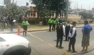 De 13 balazos asesinan a 'jalador' en plena vía pública en Los Olivos