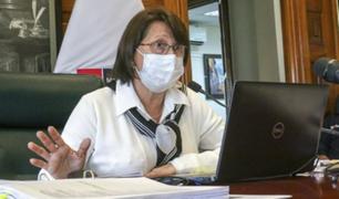 Pilar Mazzetti espera que el covid-19 no llegue a las casas ni a los centro de salud