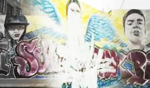 Vandalizan murales y muestras de homenaje para Inti y Byan