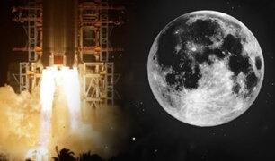 China lanza misión espacial para traer muestras de la Luna