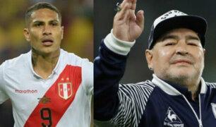 """Paolo Guerrero y su mensaje por la muerte de Maradona: """"Hasta siempre, Diego"""""""